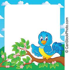 Bird theme frame 2