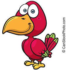 Bird - Vector illustration of bird