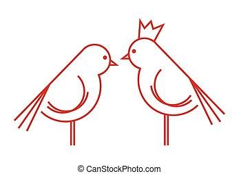 Bird vector icon