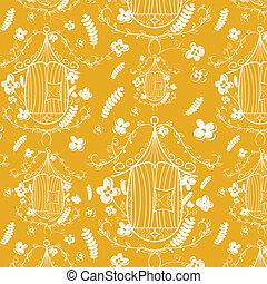 Birdcages pattern