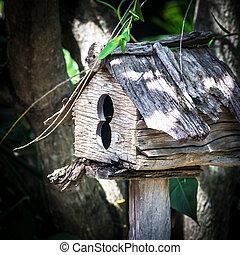 birdhouse de madera