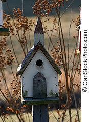 birdhouse, iglesia