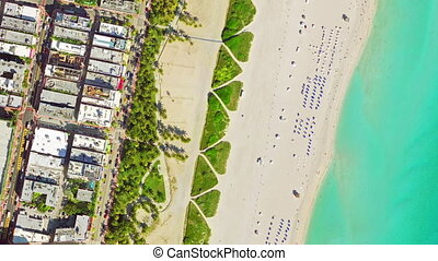 bird's eye view miami beach