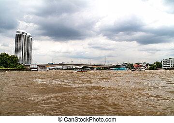 Bird's Eye View of Bangkok