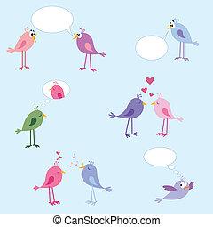Birds - love, dating, relationships