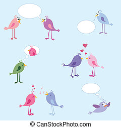 Birds - love, dating, relationships