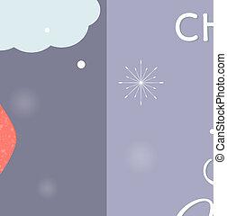 birds., mignon, babioles, coloré, lunettes, caractère, chaud, raindeer, cornes, habillement, décoré, mâle, dessin animé, rouges