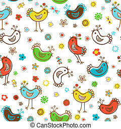 birds patterns