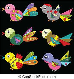 Birds ,set