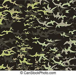 birds silhouette sets vector art