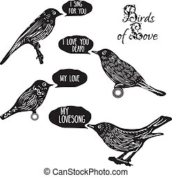 Birds singing lovesongs
