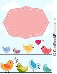 Birds Spring Banner