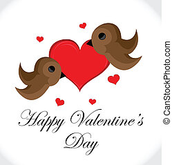 Birds Valentines Day