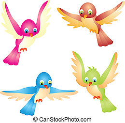 Birds vector - Dove Bird vector illustration isolated on...