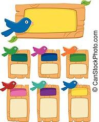 Birds Wood Bulletin Board