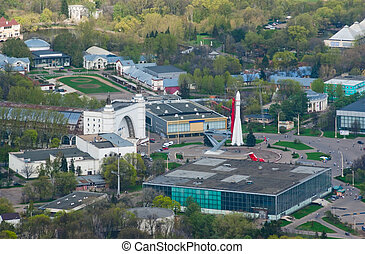 All-Russian Exhibition Center - Birdseye view of All-Russian...