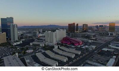 Birdseye view of city