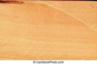 Birne, Holz ged?mpft - Scannerfoto