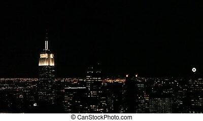 birodalom megállapít épület, alatt, new york