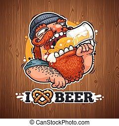 birra, amori, uomo
