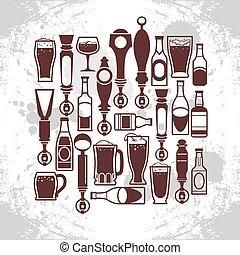 birra batte, icone