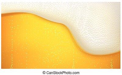 birra chiara, birra, fondo