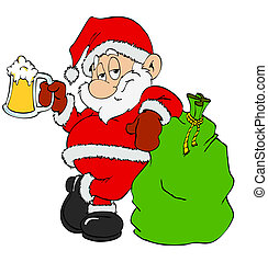 birra, claus, santa