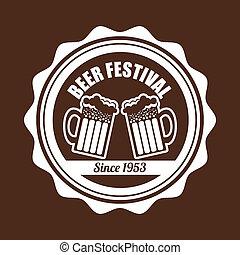 birra, disegno