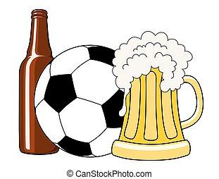 birra, football