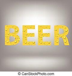birra, lettere