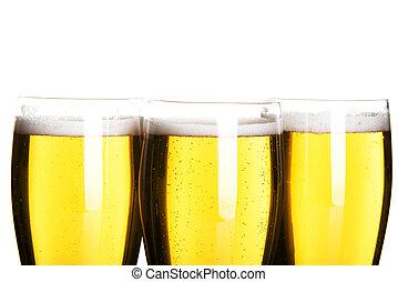 birra, primo piano