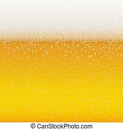 birra, schiuma