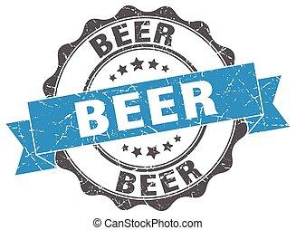 birra, stamp., segno., sigillo