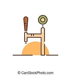 birra, tema, illustrazione