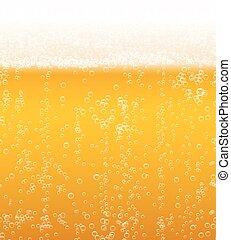 birra, vettore, fondo