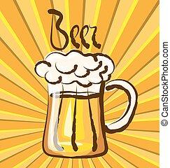 birra, vettore