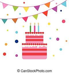birrhday cake celebration