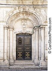 birth place of virgin mary in jerusalem israel