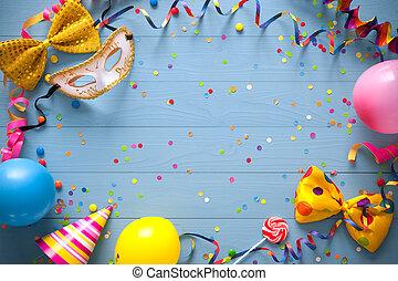 birthday, カラフルである, 背景, カーニバル, ∥あるいは∥