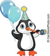 birthday, ペンギン