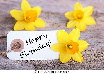 birthday, ラベル, 幸せ