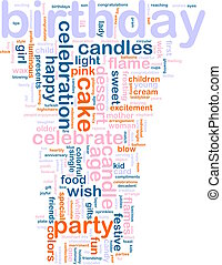 birthday, 単語, 雲