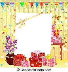 birthday, 招待