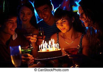 birthday, 驚き