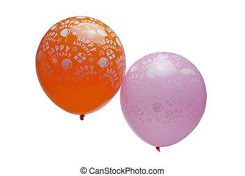 birthday balloon isolated
