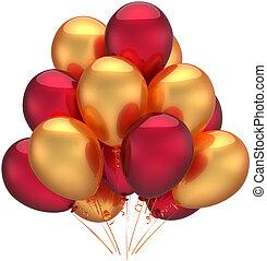 Birthday balloons luxury decoration