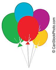 Birthday Baloons  -  Birthday Baloons Cartoon Character