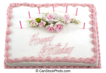 Birthday Cake - Delicious beautifully decorated bithday cake...