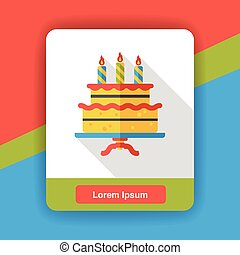 birthday cake icon