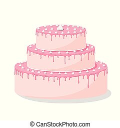 Birthday cake with